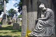 A Monument To Grief (Trish Mayo) Tags: sculpture monument cemetery grave greenwoodcemetery greenwood cemtery thebestofday gnneniyisi