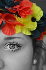 GERMANY! (Kalusija) Tags: portrait blackandwhite bw paris france eye me germany myself deutschland blackwhite europameisterschaft sw em ich meins 2016 schwarzrotgold schland schwarzweis schwarzundweis france2016 germany2016