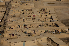 Aerial view of Quadrabad 0039 (shahidul001) Tags: poor indigent poverty slum shanty shandtytown quadrabadslum shacks home homes mudhome mudhomes horizontal view aerial color colour day daylight quetta pakistan southasia asia drik drikimages balochistan