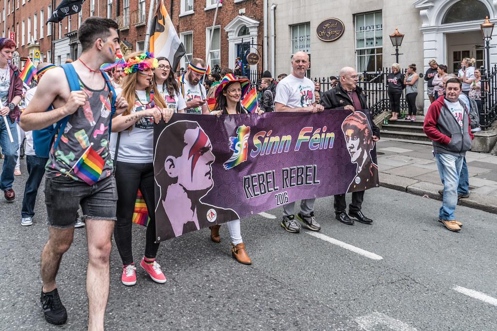 PRIDE PARADE AND FESTIVAL [DUBLIN 2016]-118002