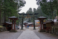 Torii gate Futarasan shrine (marina1305) Tags: japan sony april nikko tochigi 2016 a6000 epz1650mmf3556oss ilce6000