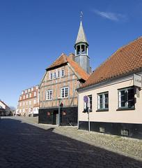 Denmark (richard.mcmanus.) Tags: denmark ebeltoft historic building architecture jutland mcmanus rathaus radhus