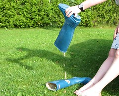 What's in there (jazka74) Tags: wellies rubber boots hunter original wam messy wet fun