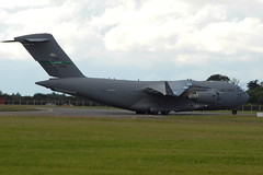 09-9211 C-17A US Air Force (eigjb) Tags: c17a c17 globemaster usaf us air force military transport amc airlift wing dublin eidw international airport june 2016 vice biden visit support aircraft airplane jet plane spotting aviation mcdonnell douglas ireland president joe 099211 62aw mcchord
