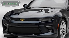 Hot New T-Rex Grille Options for the 2016 Camaro SS (vividracing) Tags: body ss overlay camaro chevy bumper grille upgrade v8 trex wholesale billet powdercoat