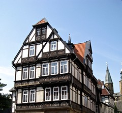 Goslar Germany (Seleusleaf) Tags: half timbered house with unusual designs