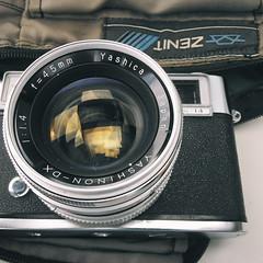 behind the lens (dvasconcellos27) Tags: analog yashica lynx behindthelens cameraporn lynx14