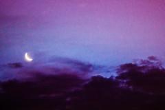 La luna de mis sueos (Qatsi Fisher) Tags: sunset analog lens sony naranja sonycamera naranjo sonyalpha boreflex sonysta sonyslta58 sonya58 boreflex135mm boreflex135