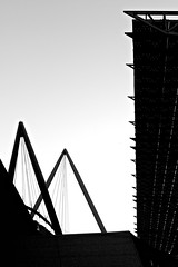 Silhouetted architectural composition (pedrosimoes7) Tags: portugal architecture lisbon parquedasnaes arquitecturaportuguesa