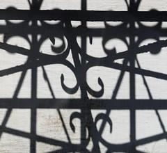 Kasbah of the Udayas, Rabat: Shadow of ironwork (More Ants) Tags: morocco rabat kasbah kasbahoftheudayas