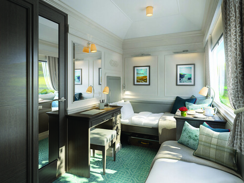 Belmond Grand Hibernian Train, Waterford Cabin