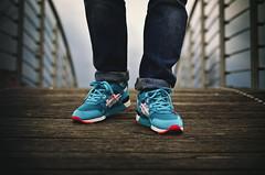 "Asics Gel Lyte III x PYS ""Teal Dragon"" (b_represent) Tags: sneakers asics sneaker bait pys pickyourshoes asicsgellyteiii gellyteiii gellyte3 asicsgellyte3"