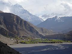 Mustang_2728 Chhusang, from Chele (Roger Nix's Travel Collection) Tags: nepal mustang himalaya chele kaligandaki chhele chhuksang tsele chhusang