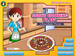 莎拉的烹飪班:巧克力披薩(Sara's Cooking Class: Chocolate Pizza)