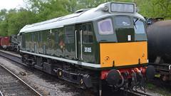 Class 25 D5185 (J @BRX) Tags: train rat br dorset swanage britishrail sulzer type2 swanagerailway dieselelectric 25035 class25 d5185 purbeckline classictraction greendieseldays