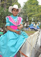 Adelita Oaxaca Mexico Horse Woman (Ilhuicamina) Tags: horses mexicana caballo mujer women parks cowgirls adelita