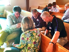 Praying for the Spirit to move in our churches.