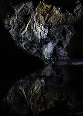 Colors and reflections inside an mine. (Vidar Lennart Fredheim) Tags: water colors norway reflections norge mine vann refleksjon mirroring farger gruve speiling