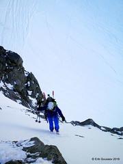 Day 2: Up the Col des Ecandies. (Erik.G.) Tags: zermatt chamonix skitouring skitour hauteroute valsorey plateauducouloir