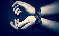 50 Shades (garbourne) Tags: grey hands shades tied 50 bound