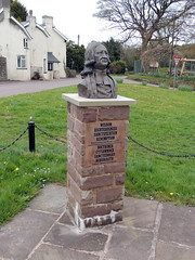 Village Green, Devauden, Monmouth 28 April 2016 (Cold War Warrior Follow Me on Ipernity) Tags: sculpture methodist methodism johnwesley monmouthshire devauden