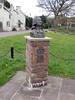 Village Green, Devauden, Monmouth 28 April 2016 (Cold War Warrior) Tags: sculpture methodist methodism johnwesley monmouthshire devauden