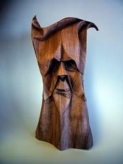 Funny Tree - Beata Kupczak (Rui.Roda) Tags: tree arbol funny origami mask arbre rvore papiroflexia beata masque mscara papierfalten kupczak