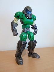 Doomguy (Cezium) Tags: lego doom bionicle moc ccbs doomguy
