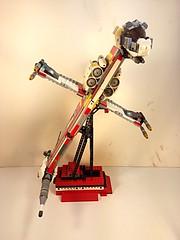 Lego -b-wing fighter (vikingforhire) Tags: starwars experimental ship lego capital killer scifi moc starfighter bwing