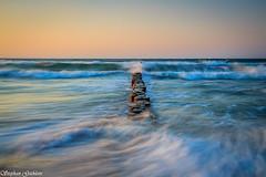 Buhne - Groyne (Stephan Gthlein Fotografie) Tags: water strand germany landscape deutschland wasser wave balticsea groyne ostsee welle landschaften zingst mecklenburgvorpommern buhnen fischlanddarszingst