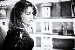 Maud Forget 1 (Emmanuel Pampuri) Tags: portrait paris rooftop blackwhite actress maudforget