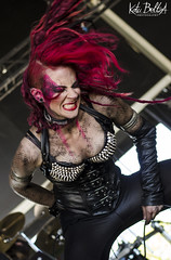In Mute (KatuBeltza13) Tags: music metal female concert nikon outdoor concierto musica singer redhair readhead cantante redhaired viarock d5100 inmute viarock2016 viarock16