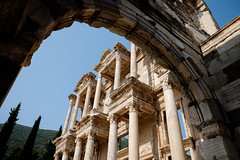 View Through the Arch (_Codename_) Tags: architecture turkey arch library columns ephesus libraryofcelsus