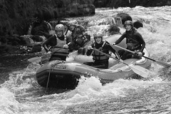 Messing about on the river (robwhite3) Tags: wales river boat whitewater rafting raft snowdonia bala