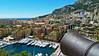 Monaco from the barrel of a Canon (travelmag.com) Tags: sea mountains port canon mediterranean royal palace monaco princespalace