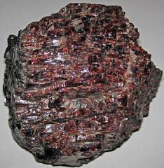 Almandine garnet (North Creek area, New York State, USA) 1 (James St. John) Tags: almandine garnet garnets silicate silicates mineral minerals adirondack mountains adirondacks new york state north creek big precambrian