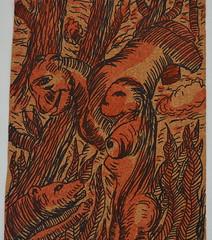 Figure nel bosco (Enrico Luigi Delponte) Tags: art arte kunst cork drawings disegni dessins sughero