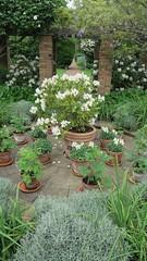 Geffrye Museum Gardens (Aref-Adib) Tags: gardens museum geffrye
