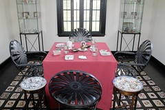 Ladew Manor House ~ Card House - HWW! (karma (Karen)) Tags: ladewmanorhouse monkton maryland harfordco estates mansions cardhouse tables chairs glasses cards carpets windows windowwednesdays hww