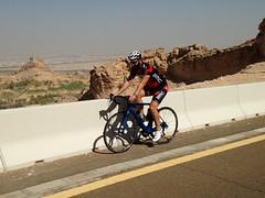 Going up Jebel Hafeet (Patrissimo2017) Tags: cycling bmc roadbike