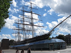 Cutty Sark (Epochend) Tags: sky london clouds boat ship cutty sark