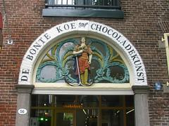56 (streamer020nl) Tags: holland bird netherlands shop cow store chocolate dove nederland anchor winkel paysbas anker vogel niederlande koe schiedam zuidholland duif 2016 ancre bontekoe chocoladekunst langehaven 010616