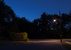 The Light at the End of the Street (thetzar) Tags: night landscape dusk pennsylvania allentown lehighvalley d800