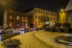 Katowice (nightmareck) Tags: winter night europa europe fuji poland polska handheld fujifilm katowice zima fujinon silesia pancakelens xe1 apsc mirrorless lskie grnylsk xtrans fotografianocna xmount xf18mm xf18mmf20r bezlusterkowiec