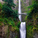 Early Morning at Oregon's Multnomah Falls