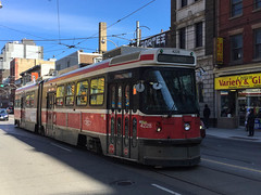 Toronto Streetcar (michaelTO) Tags: canada ontario queenstreet streetcar ttc toronto torontotransitcommission