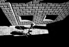 Lines & Shadows (annemcgr) Tags: people monochrome blackwhite shadows streetphotography croatia aerial dubrovnik fineartphotography annemcgrath