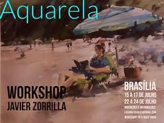 Workshop Javier Zorrilla, Braslia-DF, Brazil (Dona Mincia) Tags: brazil brasil course aula curso classe brasiliadf aquarela javierzorrilla