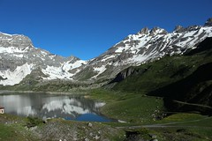 Salenfe (bulbocode909) Tags: valais suisse salenfe montagnes nature lacs prairies reflets paysages vert bleu