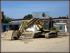 Hitachi Zaxis 350-3 (DaveFuma) Tags: hitachi zaxis 350 escavatore cingolato ruspa tracked crawler excavator bagger ketten raupen pelle excavateur